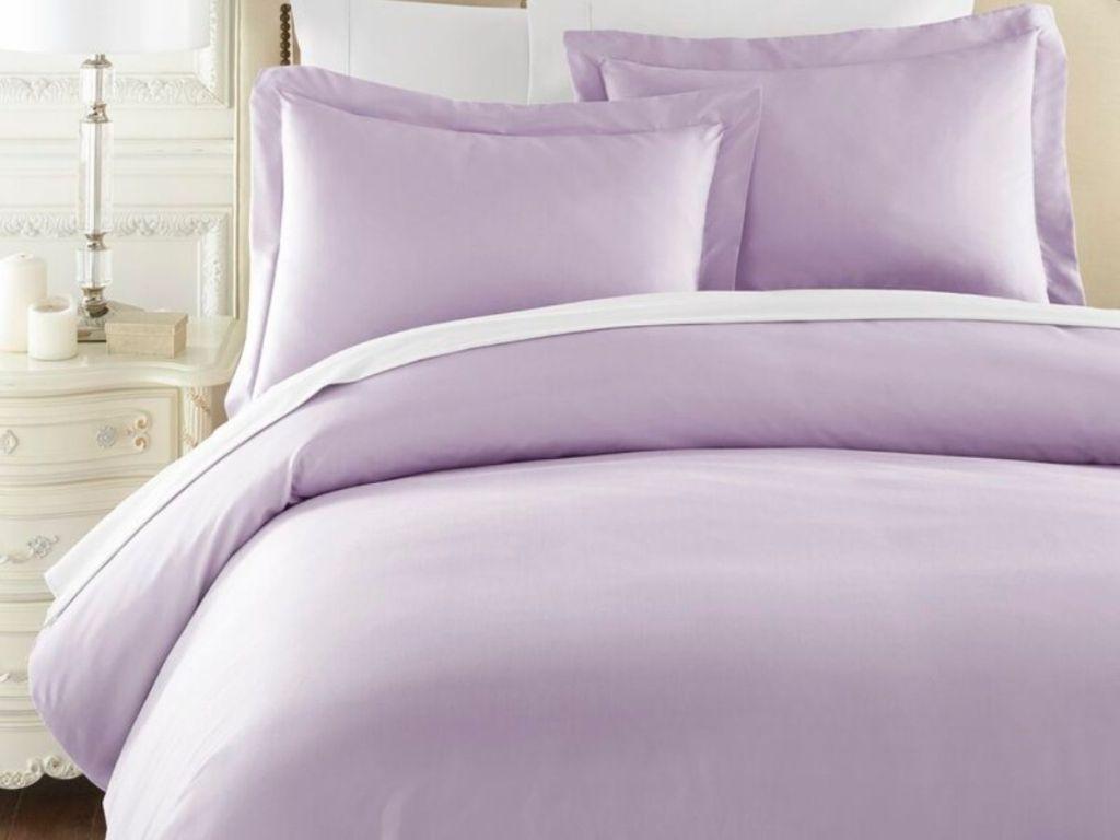 Lavender Comforter Set