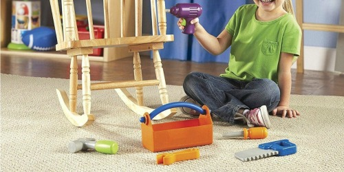 Learning Resources 6-Piece Toy Tool Set Just $12.95 on Amazon (Regularly $25)