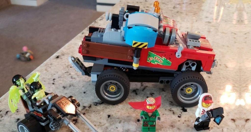 Lego El Fuego Stunt Show