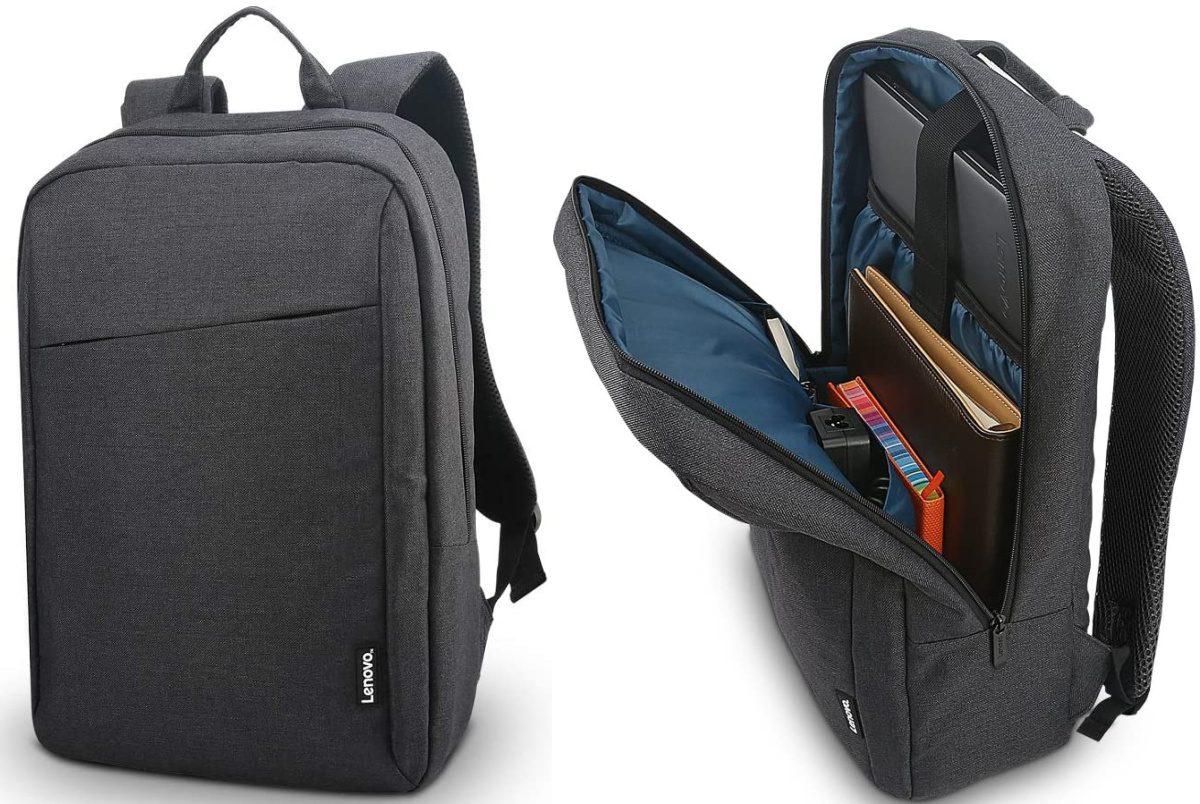dark gray laptop backpack