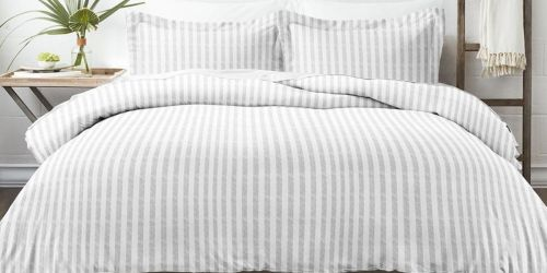 Patterned Duvet Sets from $24.92 Shipped (Regularly $89+)