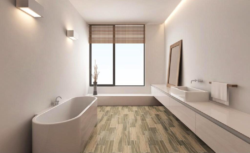 MSI Carolina Timber Saddle Matte Ceramic Floor and Wall Tile