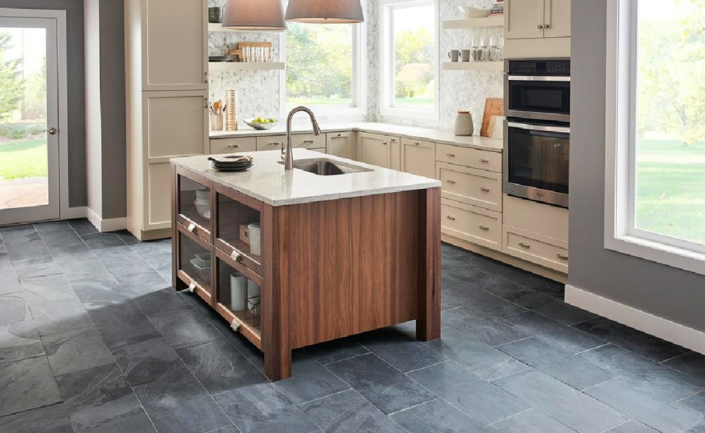 MSI Montauk Black Gauged Slate Floor and Wall Tile