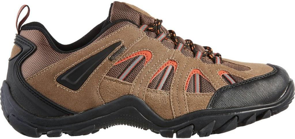 men's brown hiking boot