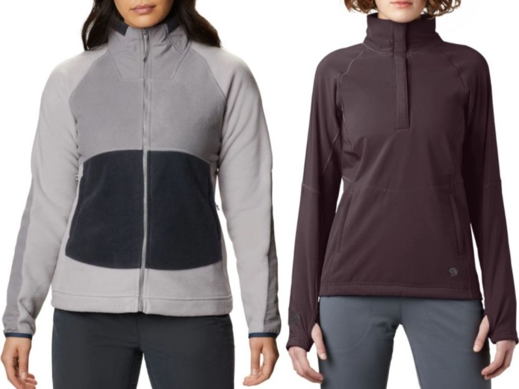 two women wesring Mountain Hard Wear Jackets