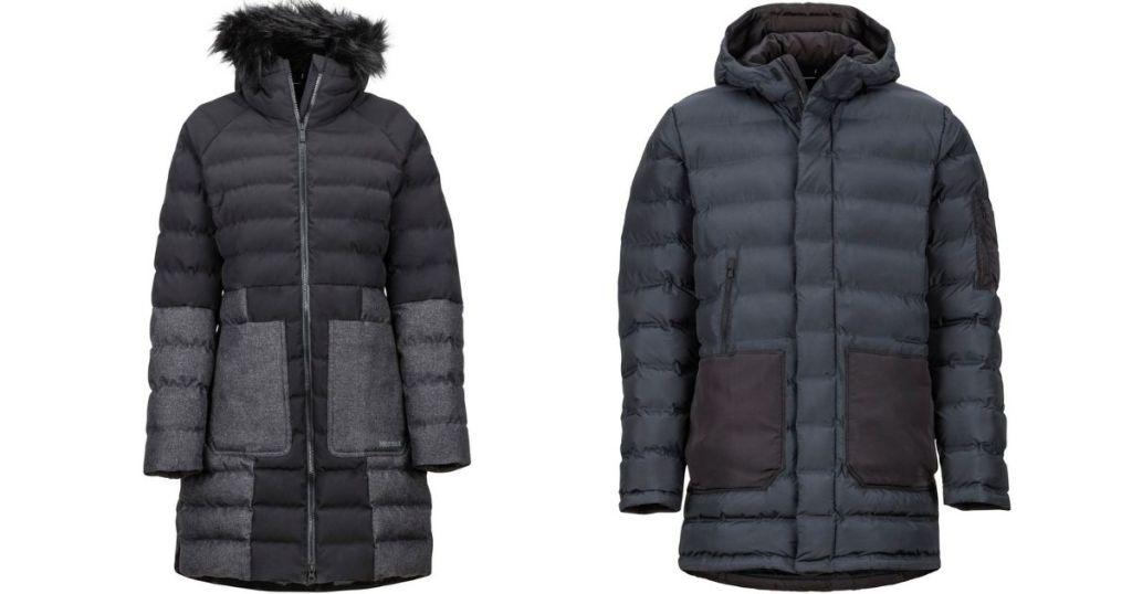 two Marmot winter jackets