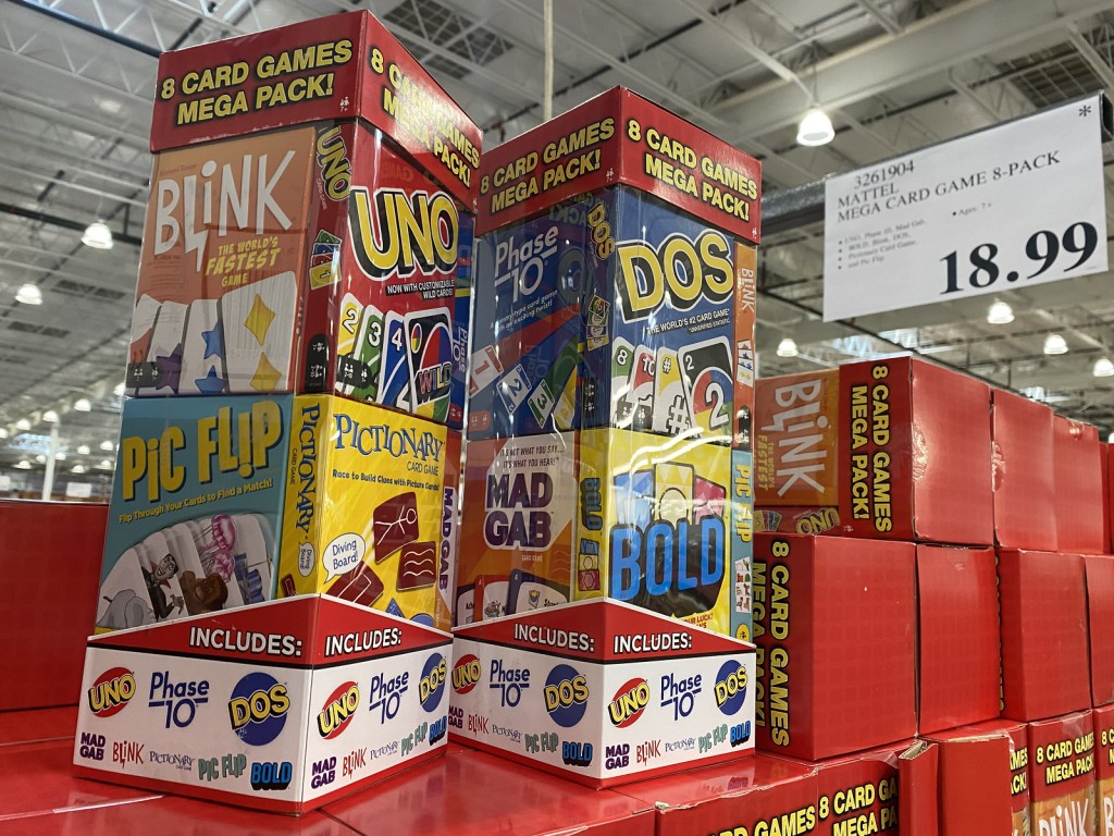 Mega Pack Games from Costco
