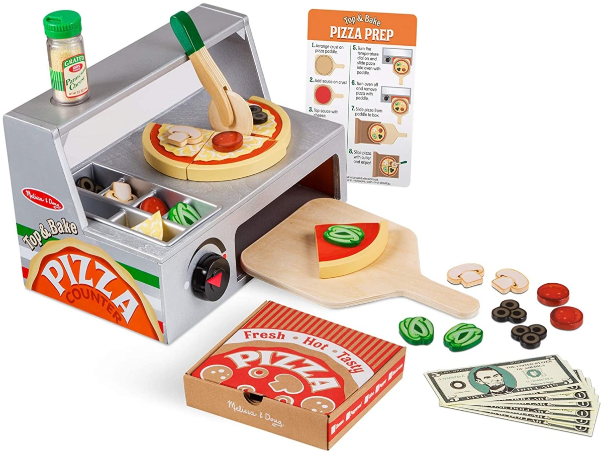 Melissa & Doug Pizza Counter full set.