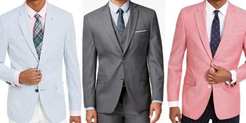 Men's Blazers & Sport Coats Only $27.99 + Free Shipping on Macys.com