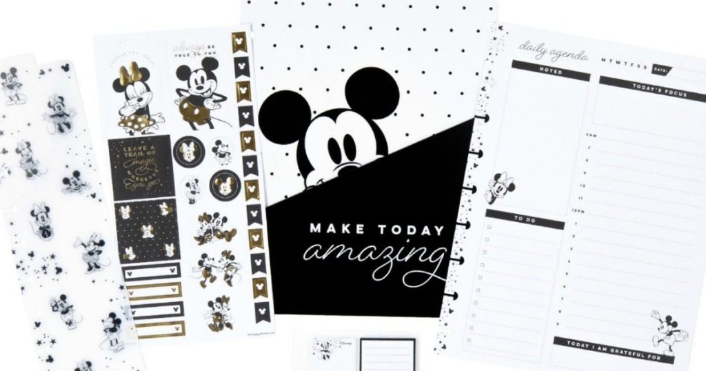 Mickey Mouse Happy Planner Starter Pack
