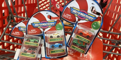 MicroMachines Toy Car 2-Pack Only $3 at Target