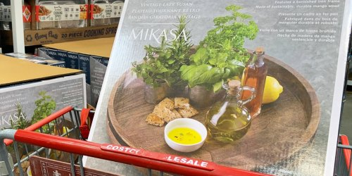 Mikasa Vintage Lazy Susan Just $23.99 at Costco | Easy Storage or Charcuterie Board