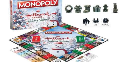 Monopoly Hallmark Edition Board Games From $31.99 on The Paper Store (Regularly $40)