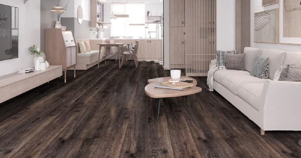 Montserrat Invicta Raw Umber SPC Vinyl Plank Flooring