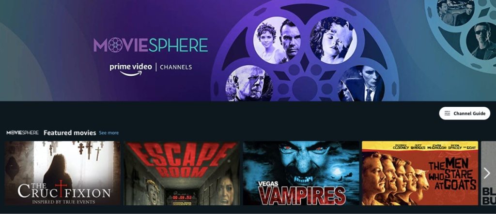 MovieSphere Prime Channel