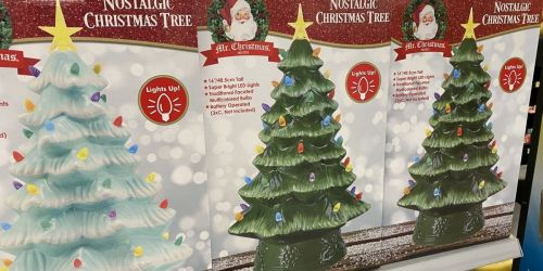 Mr. Christmas 16-Inch Nostalgic Christmas Trees Just $25 at Walmart | In-Store and Online