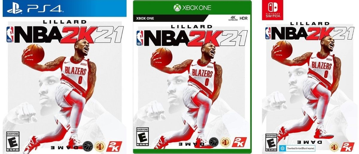 three NBA 2K21 Games