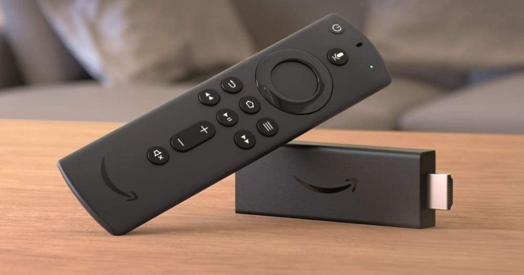 Fire TV Stick Lite on wood table