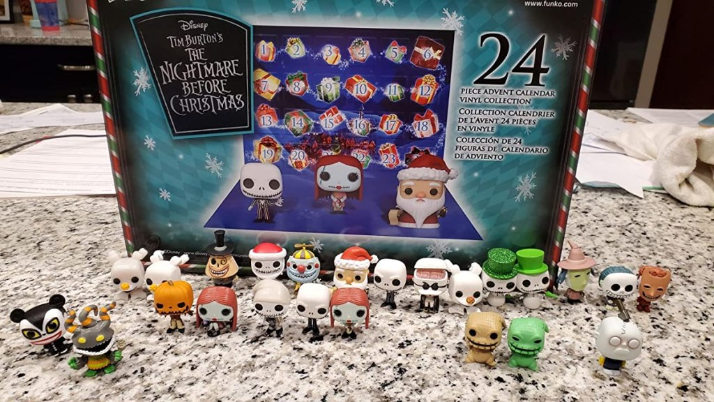 Nightmare Before Christmas Advent calendar Funko characters