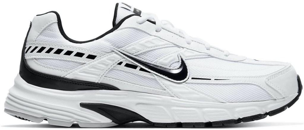 men's white and black sneaker