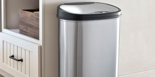 Touchless Kitchen & Bathroom Trash Can Set Just $54.98 on SamsClub.com (Regularly $78)
