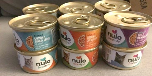 Nulo Adult & Kitten Canned Cat Food 12-Count Variety Pack Only $11.69 Shipped on Amazon