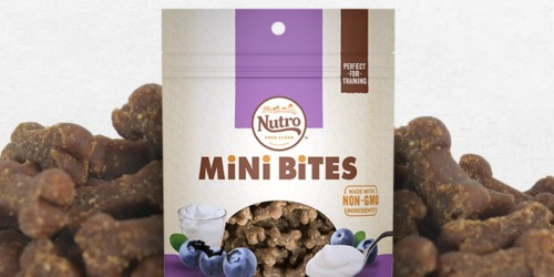 Nutro Mini Bites Dog Treats from $3 Shipped on Amazon