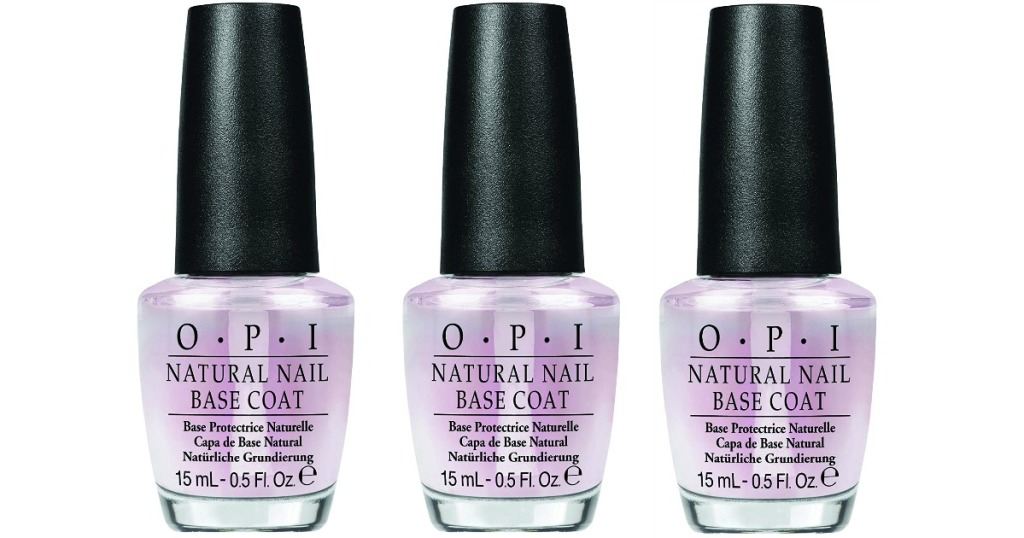 OPI Natural Base Coat Stock Image