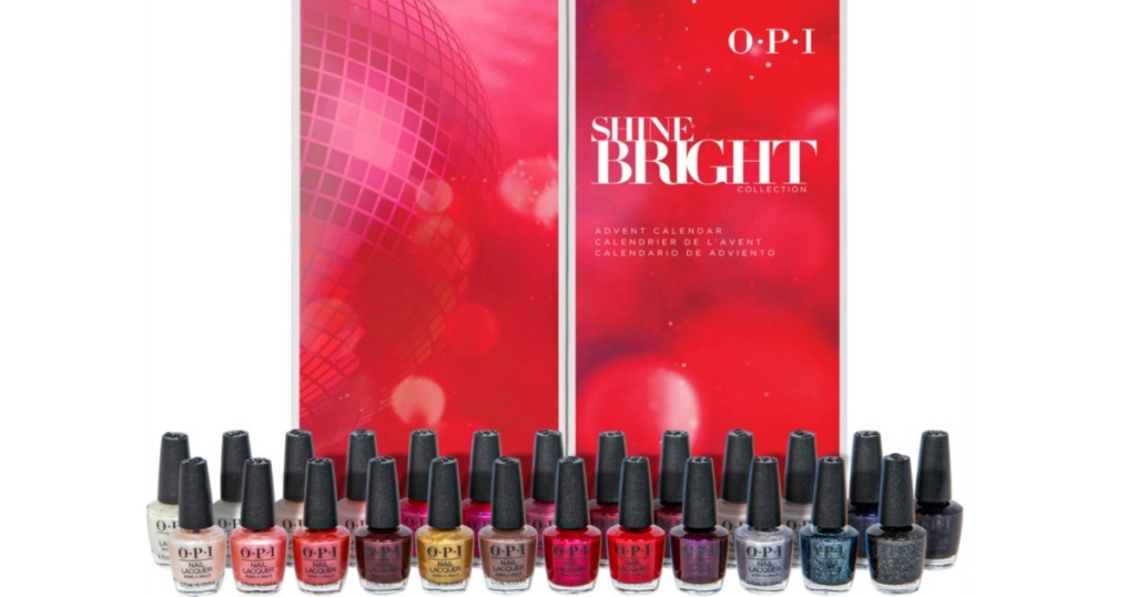 OPI Shine Bright Holiday Polishes