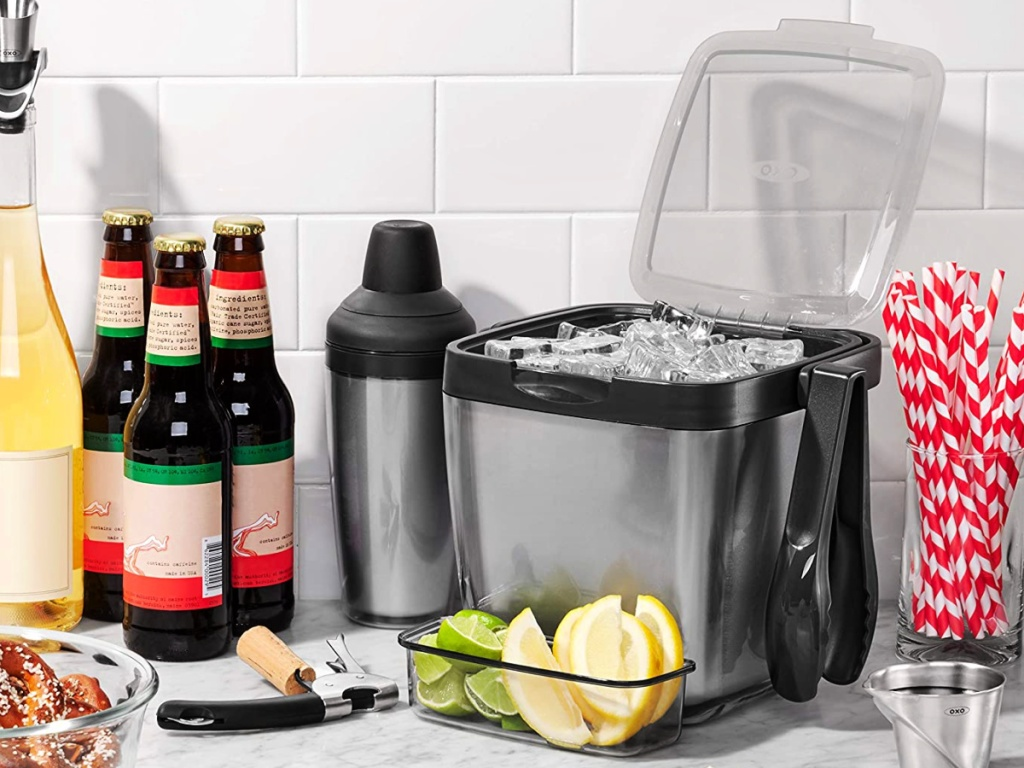 OXO Good Grips 3-Piece Ice Bucket Set