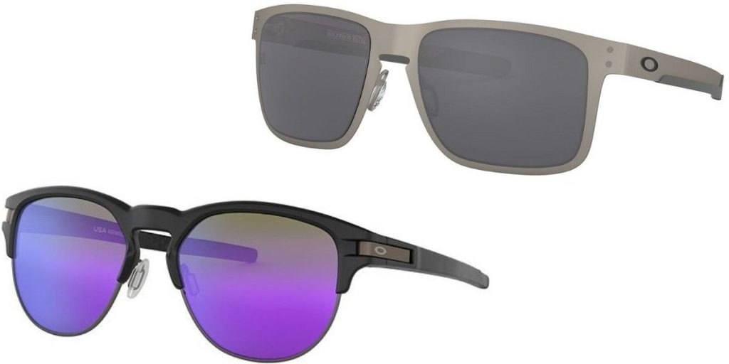 Two pairs of Oakley Men's Sunglasses