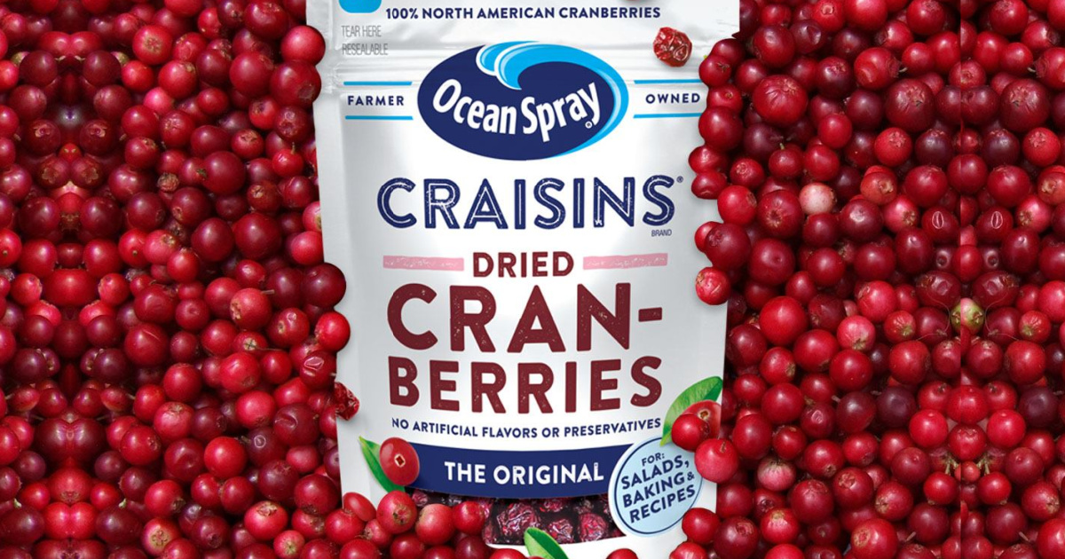 Ocean Spray Craisins in fresh cranberries