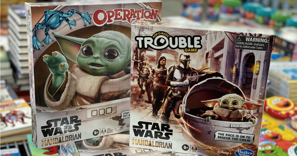 Operation and Trouble Mandalorian Games
