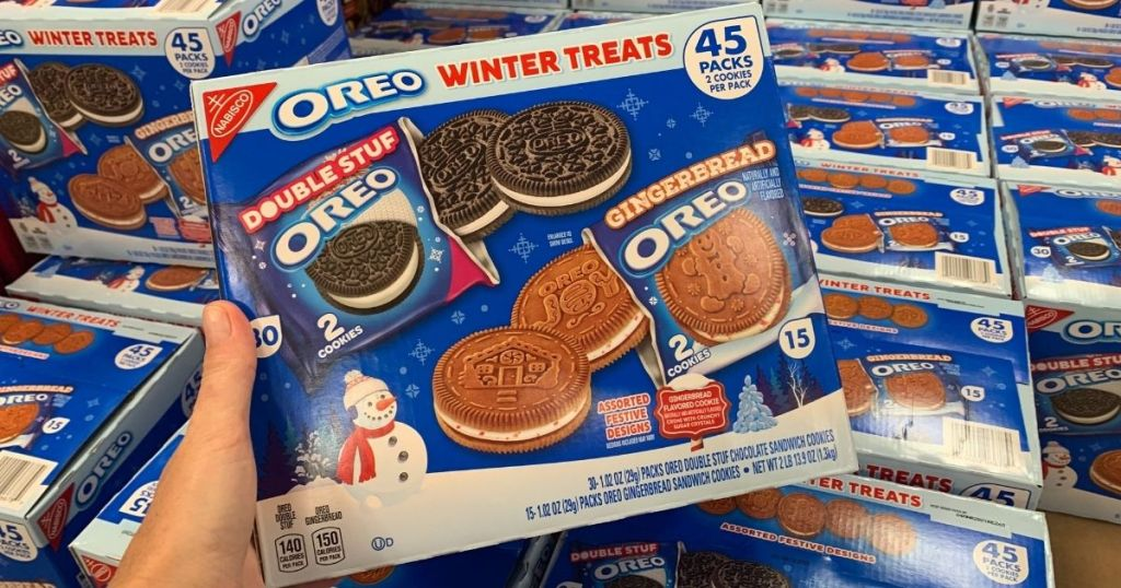 Oreo Winter Treats 45-Count Variety Pack