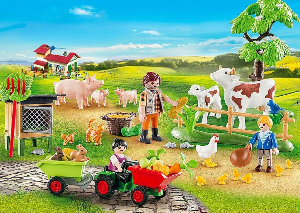 PLAYMOBIL farm playset