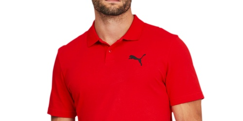 PUMA Men's Polo Only $9.99 Shipped (Regularly $35) | Plus Sizes Included