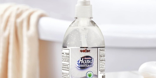 FREE Hand Sanitizer 16.9oz Pump Bottle for Big Lots Rewards Members Thru May 9th