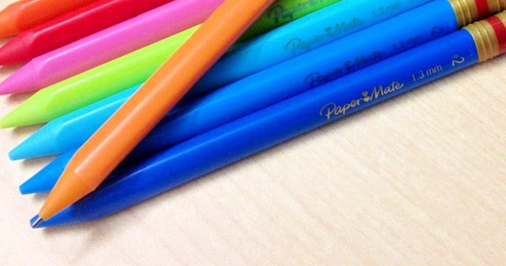 Paper Mate Handwriting Triangular Mechanical Pencils