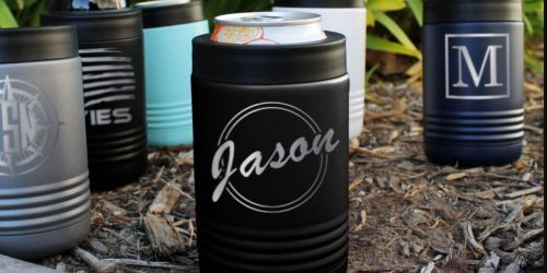 Engraved Metal Drink Holders Only $14.99 Shipped (Regularly $25)