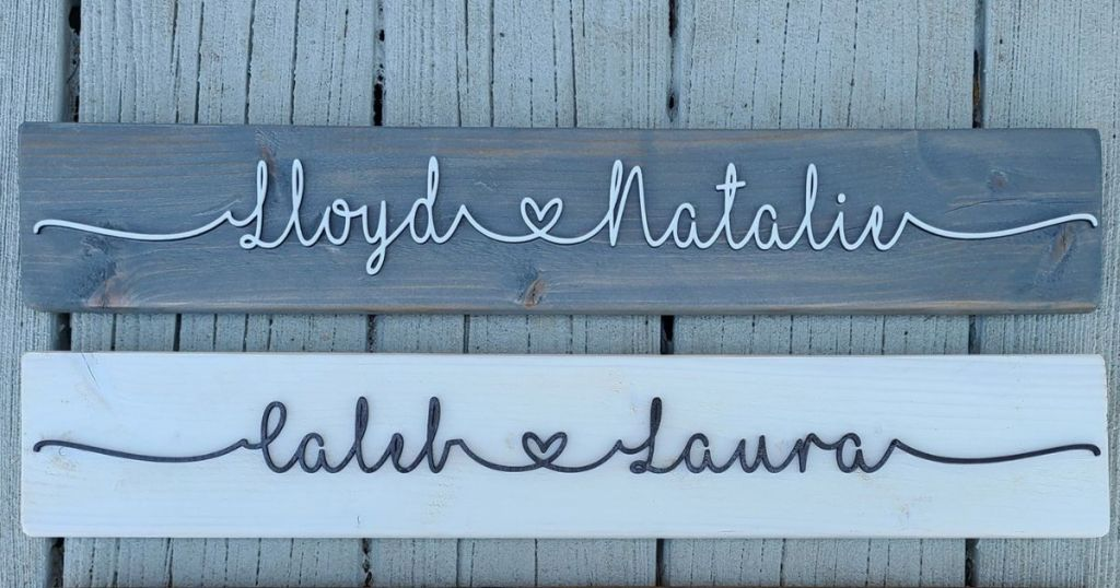 personalized name signs