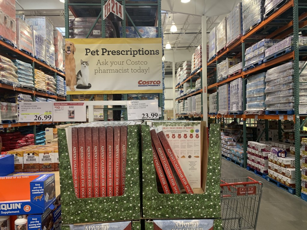 Pet Advent Calendar from Costco