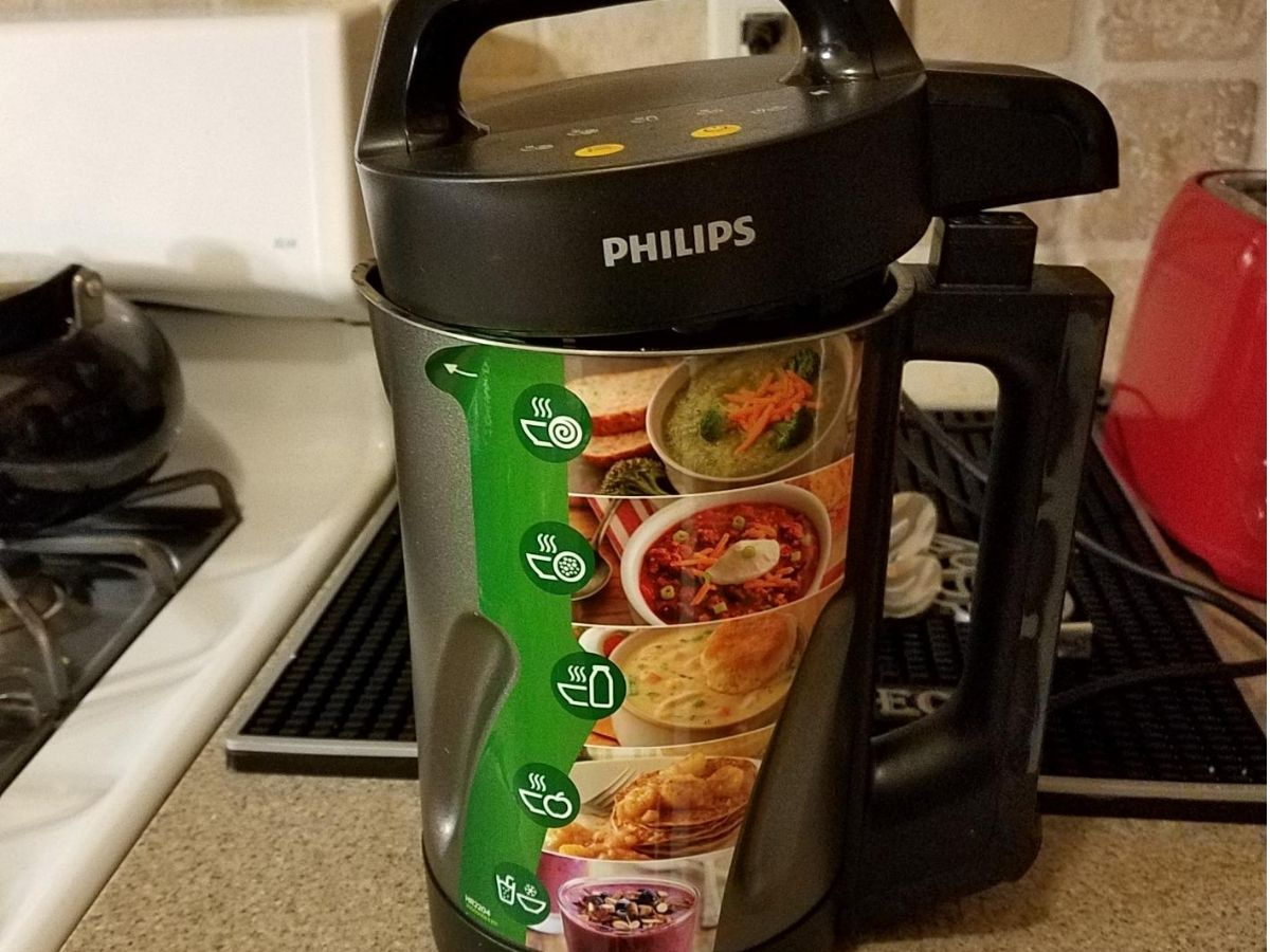 Philips soup maker in kitchen
