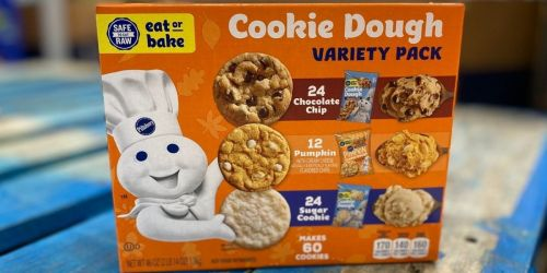 Pillsbury Refrigerated Cookie Dough 60-Count Variety Pack Only $5.98 at Sam's Club