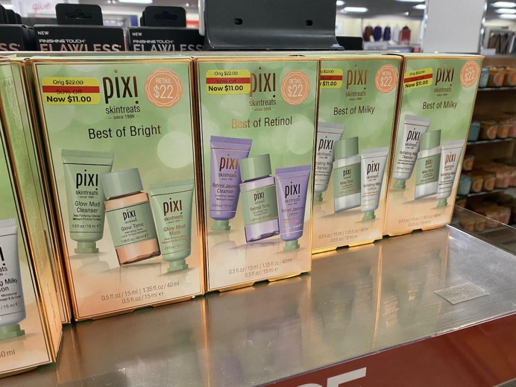 multiple varieties of Pixi Skin Care Gift Set