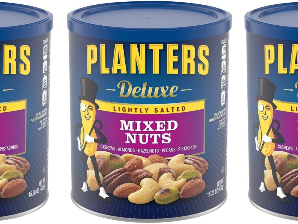 Planter's Lightly Salted Deluxe Mixed Nuts