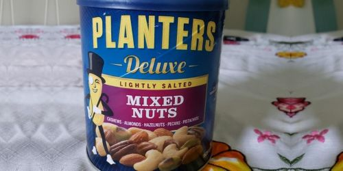 Planters 15.25-Ounce Deluxe Lightly Salted Mixed Nuts Just $6.60 Shipped on Amazon