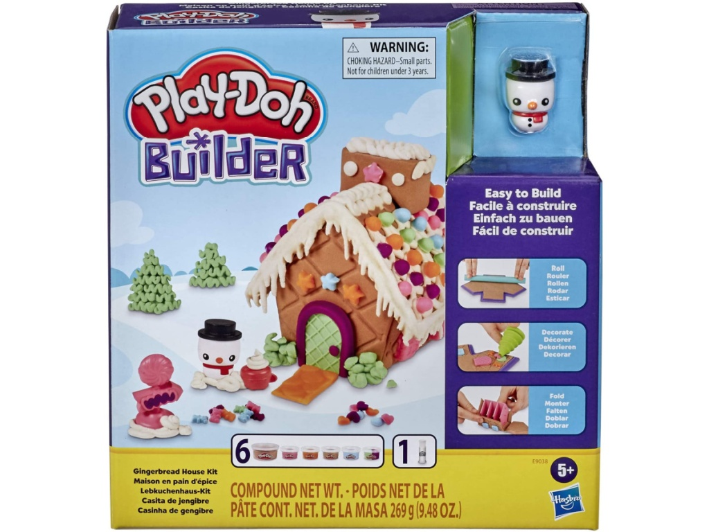 Play-Doh Gingerbread House Set in a box