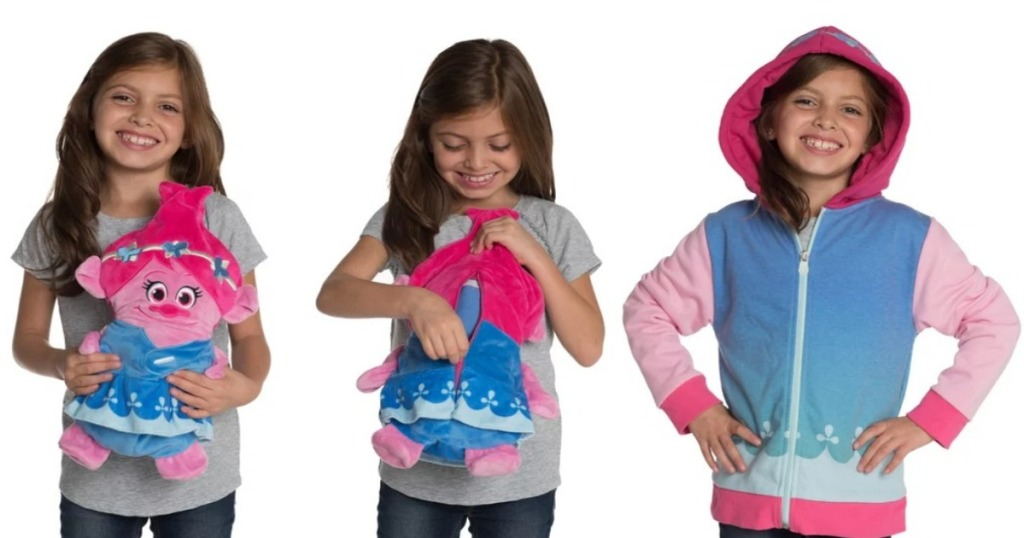 3 version of Poppy the Troll Cubcoats
