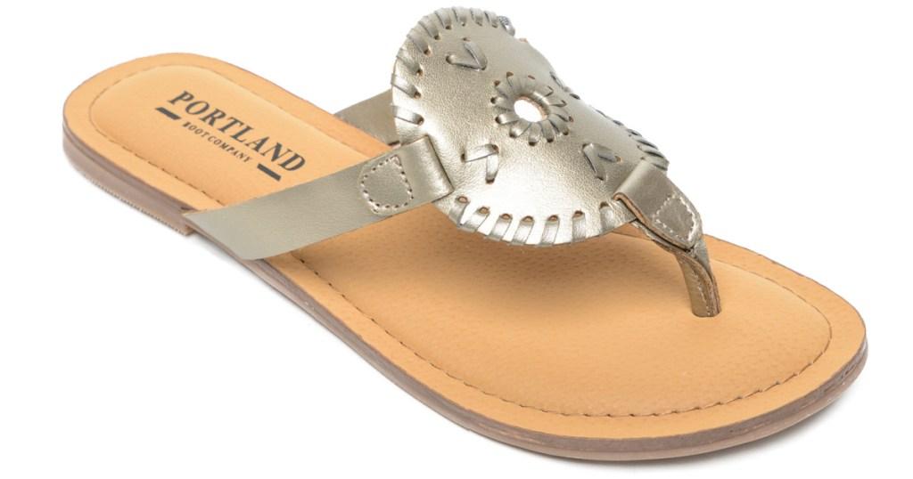 Metallic Portland Boot Company Women's Sandals