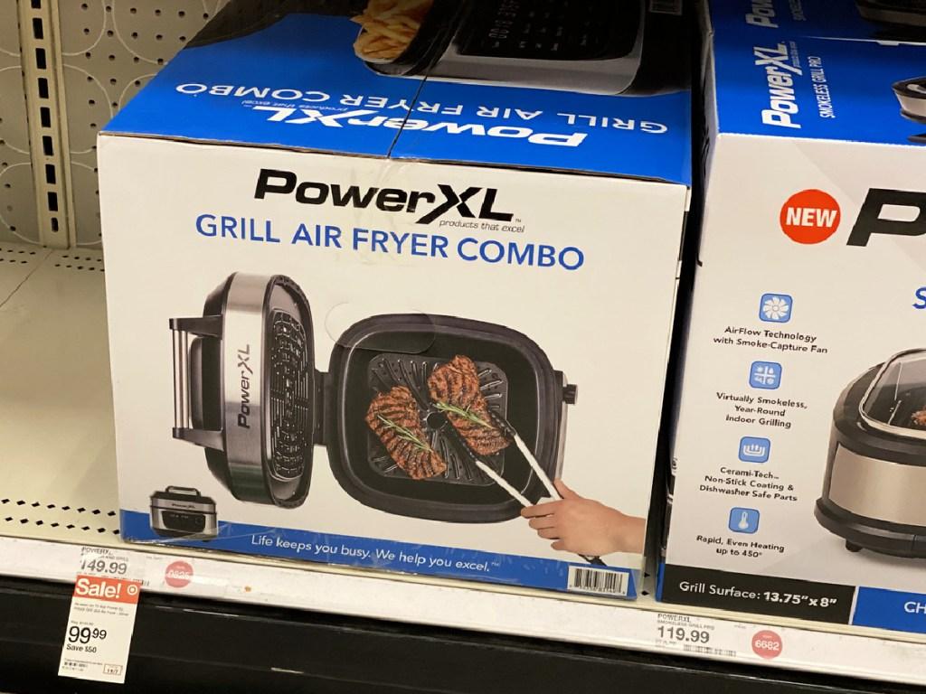 Power XL 6 Quart Air Fryer & Indoor Grill